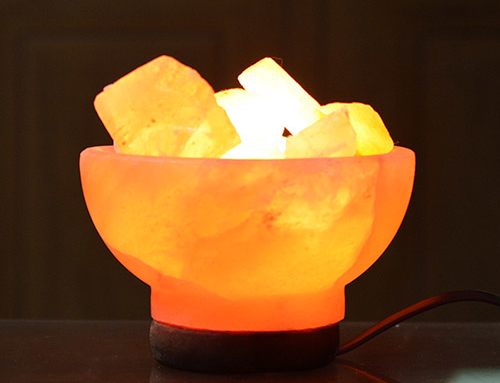 Fire Bowl Lamp