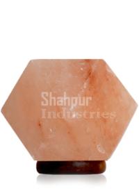 Diamond shape Salt Lamp