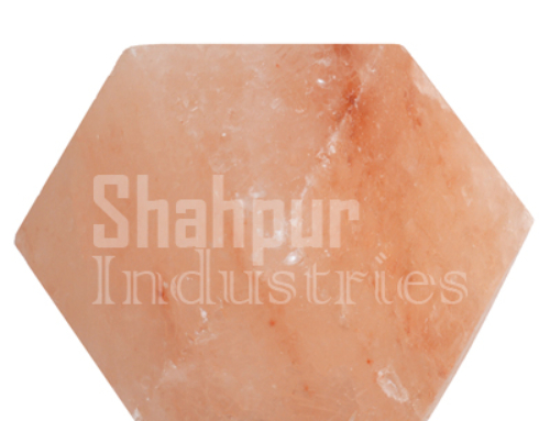 Diamond Shape Salt Lamp