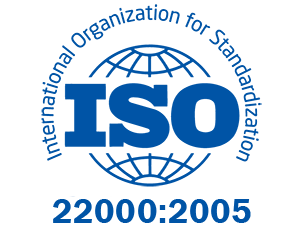 ISO 22000 Certified Food